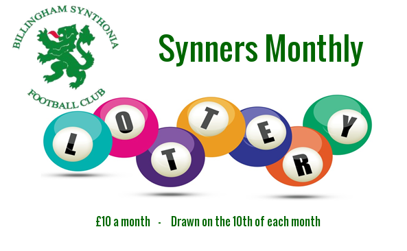 Synners Monthly Lottery